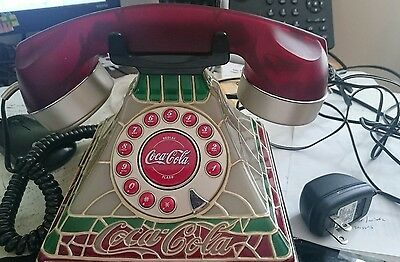 Stained Glass Look Telephone Great Condition, Brand New