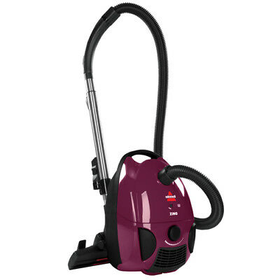 BISSELL Zing Bagged Corded Canister Carpet & Hard Floor Vacuum | 4122 NEW!