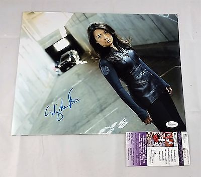 Ming Na-Wen SIGNED 11x14 Photo Agent May Agents of SHIELD Autograph JSA COA 1A