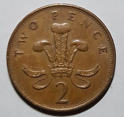 1987 Two Pence Great Britain/UK Coin
