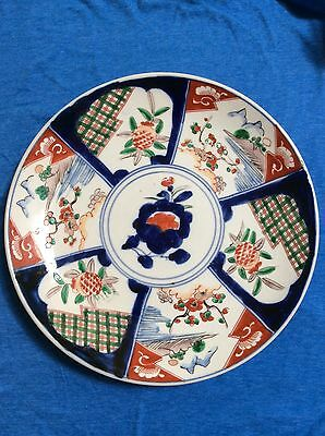 Antique 19th Century Imari Charger Large Plate