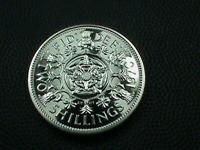 GREAT  BRITAIN     2  Shillings    1970    PROOF