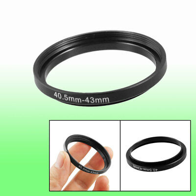 Replacement 40.5mm-43mm Camera Metal Filter Step Up Ring Adapter
