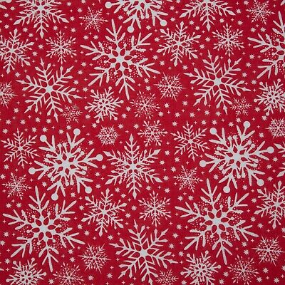 Blue Snowman Christmas Polycotton 112cm Wide Sold @ £2.64 per mtr.