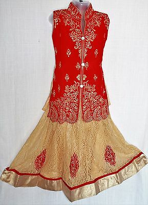 Indian Ghagra choli Lacha Chanya Choli lehanga Langa Skirts girls kids 3 and up