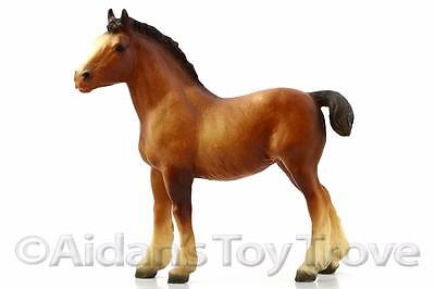 Breyer Traditional Model Horse Toy - 84 Clydesdale Foal - Retired Vintage Draft