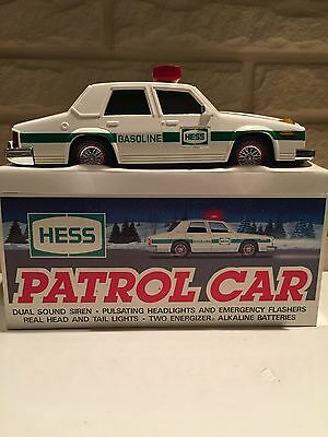 1993 Hess Toy Patrol Car With Sound And Lights Brand New In Box