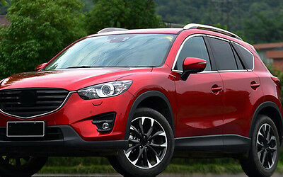 For Mazda CX-5 CX5 2012-2015 Stainless Chrome Window Sill Trims no center pillar