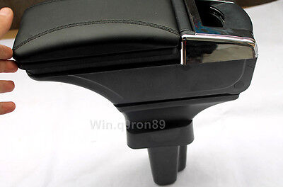 For Honda FIT JAZZ 2009- 2012 Inner Central Armrest Storage Box Elbow Supporting