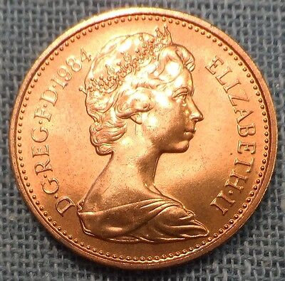 Great Britain  1984  1 Penny KM#927  Brilliant Uncirculated