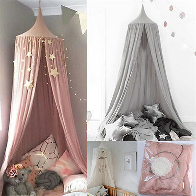 Canopy Bed Netting Mosquito Bedding Net Baby Kids Reading Play Tents Bedcover DF