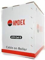 Amdex Cat 6 Utp Cable 305M Box (Blue)