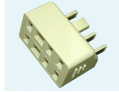 DOUBLE ADAPTER - 605 PLUG TO 2 610 SOCKETS Standard