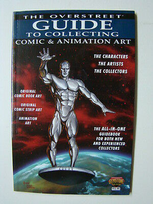 Overstreet's Guide to Collecting Comic & Animation Art Book Original Art 2013
