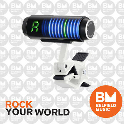 Korg Sledge Hammer Custom 100 Clip-On Tuner White Sledgehammer - Belfield Music