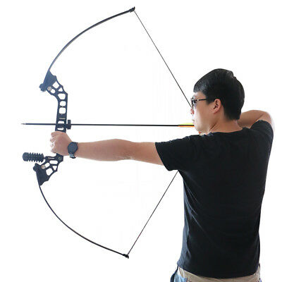New Outdoor Archery Game Right Hand Fishing Bow Camping Hunting Shooting Sport