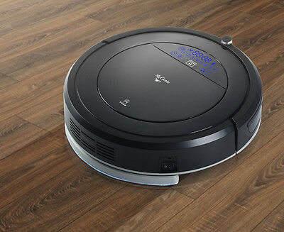 My Genie Smart Robotic Vacuum Cleaner - Black