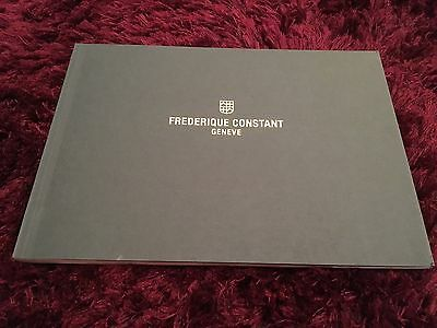 Frederick Constant Watch Catalogue 2016 / 2017 - ENGLISH