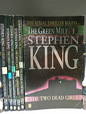 Stephen King - The Green Mile - 1st Edition 1994 -6 Books Collection! (ID:45210)