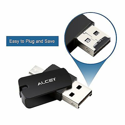 Lettore Di Micro Sd Con Usb E Otg Per Pc Notebook Smartphone E Tablet Android