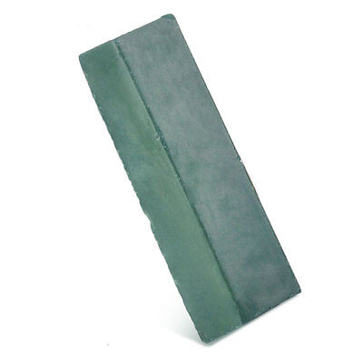 Green Leather Strop Sharpening Abrasive Polishing Compounds Wax Leathercraft New