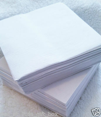 Pre Cut Embroidery Stabiliser Backing Medium Convenient 20x20cm Squares Craft.