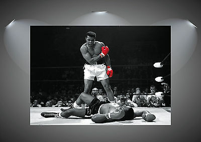 Muhammad Ali Boxing Vintage Large Art Poster - A1, A2, A3, A4 available