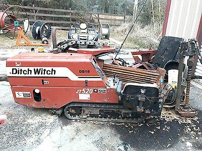 2 Ditch Witch JT 520  NO RESERVE