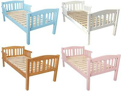 Toddler Bed Kids Children's Junior Bed 5 Colours BRAND NEW Boys Girls