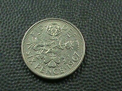 GREAT  BRITAIN    6  Pence   1967