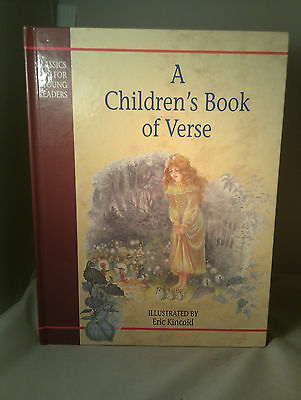 A Children's Book of Verse (1994, Hardcover)