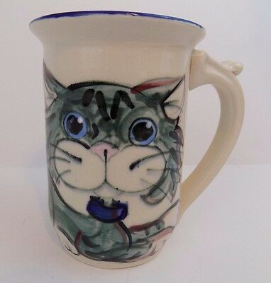 Cat - Coffee Mug/Cup - Unique - Made In Maine