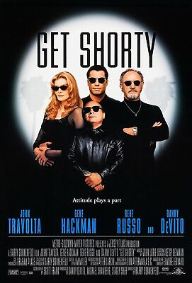 Get Shorty (1995) Original Movie Poster  -  Rolled