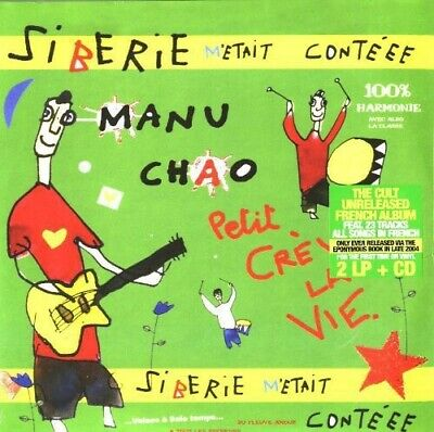 Manu Chao Siberie M'Etait Conteee Vinyl 2 LP + CD NEW sealed