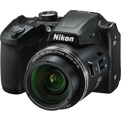 Nikon COOLPIX B500 16.0 MP Digital Camera Black 26506 40x Zoom DLSR