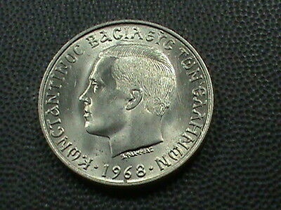 GREECE     10  Drachma    1968    BRILLIANT  UNCIRCULATED