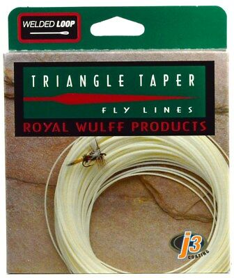 ROYAL WULFF TRIANGLE TAPER CLASSIC FLOATING FLY LINE, TT4F 4 Weight, OLIVE