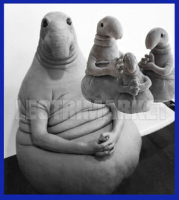 "20"" Meet Zhdun Plush Toys Snorp Figure Homunculus Loxodontus Sculpture Waiting"