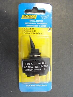 TOGGLE SWITCH SEACHOICE OFF//ON SWITCH 12101 BOAT ELECTRIC PARTS BOATINGMALL SALE