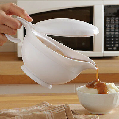 Microwave Gravy Server with Lid