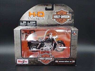 1952 K MODEL HARLEY DAVIDSON MAISTO Series 30 1/18 MOTORCYCLE COLLECTIBLE MODEL