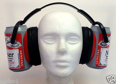 Hearing Protection EarMuffs Real Ear Protection Adult Kids Safe beer cans