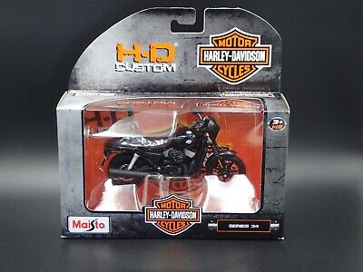 2015 Harley Davidson Street 750 Black MAISTO Series 34 1/18 MOTORCYCLE MODEL