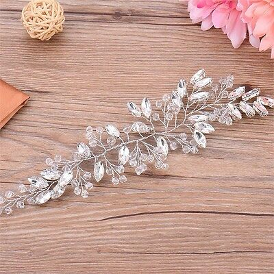 Crystal Crown Hair Accessory Racing Headband Vintage Wedding Bridal Spring 2018