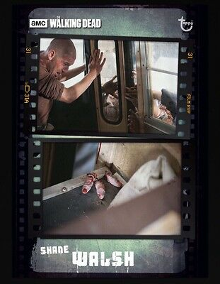 SEQUENCE SERIES 2 EMULSION SHANE WALSH The Walking Dead Card Trader Digital