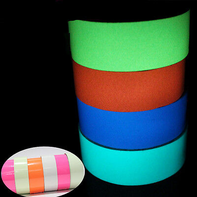 1Piece Stage Decoration Glow in the Dark Adhesive Strip Plastic Neon Tape