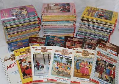 THE BABYSITTERS CLUB 51 book lot~Little Sister/Mystery/Super Special/Notebook