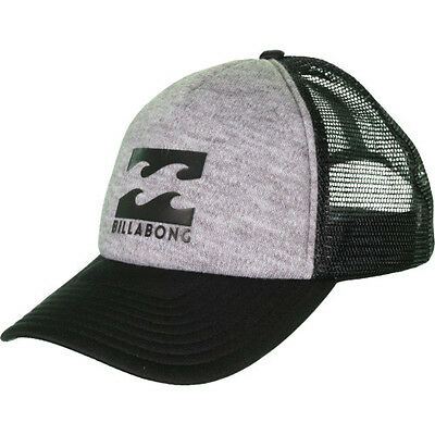 Billabong Podium Trucker Mens Headwear Cap - Grey Heather One Size