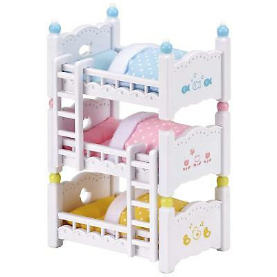 Sylvanian Families Cute Doll Accessory Furniture baby three stage Bed From Japan