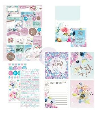 My Prima Planner Goodie Pack Inspiration - Stickers Bookmark Pocket Inserts